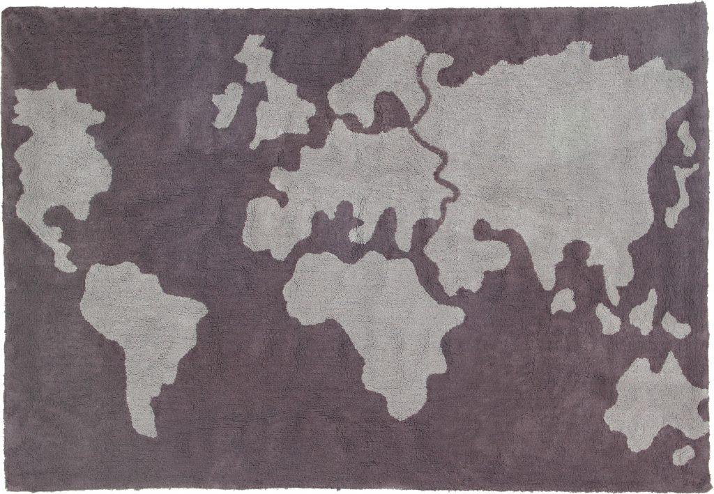 Alfombra lorena canals world map baby kids deco - Alfombra lorena canals ...