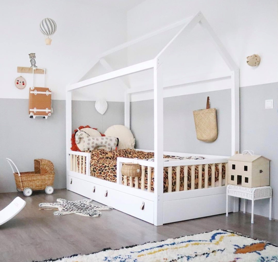 Cama montessori luna baby kids deco for Decoraciones para piezas